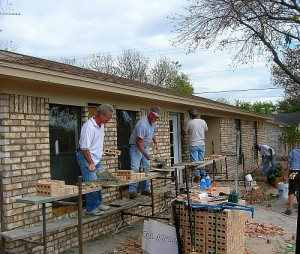 picture of community support for safehouse remodel project