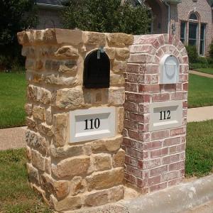 Brick Mailbox Design Info Page