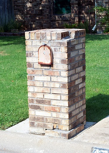 Repair Considerations for Brick Mailboxes - Brick Doctor