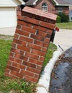 A description of Fundamental Brick Work Specifications for Brick & Masonry Mailboxes