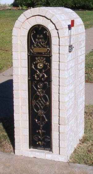 Secure And Lockable Brick Mailbox Options
