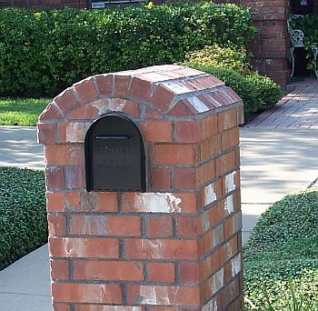 Understanding brick mailbox construction fundamentals for Best mailbox design