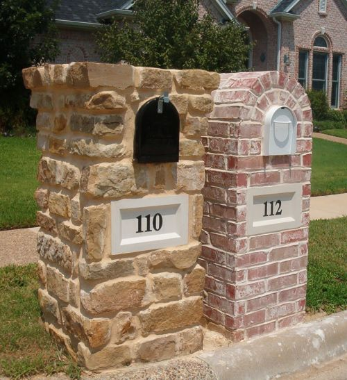there - Mailbox Design Ideas