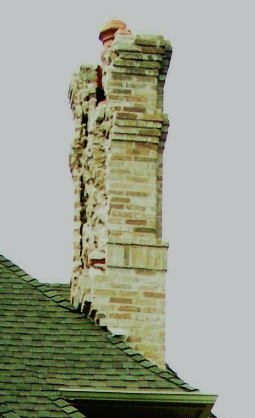 Has Your Brick Chimney Been Hit By Lightning Brick Doctor