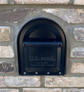 Brick Mailbox With Heavy Duty Insert